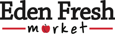 A theme logo of Eden Fresh Market